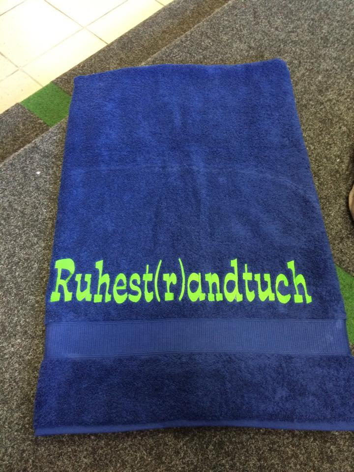 Ruhest(r)andtuch